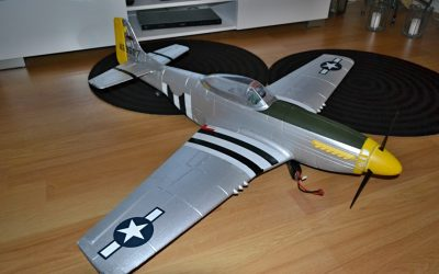 Dynam P51 Mustang 1200