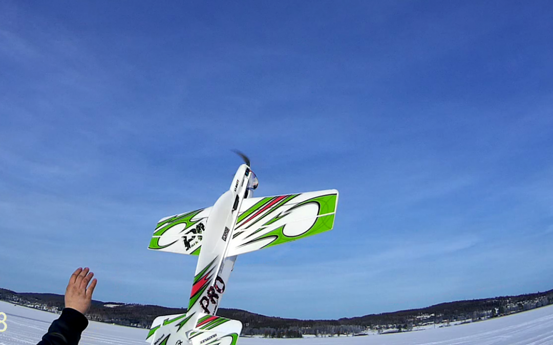 Multiplex Parkmaster test flyg